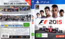 F1 2015 (2015) PAL PS4 Cover