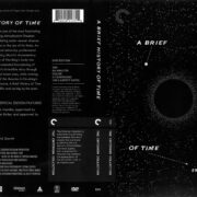 A Brief History of Time (1992) R1 DVD Cover
