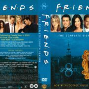 Friends Season 8 (2004) R1 DVD Cover