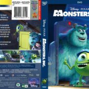 Monsters, Inc. (2013) R1 DVD Cover