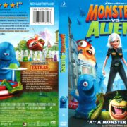 Monsters Vs. Aliens (2009) R1 DVD Cover