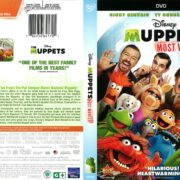Muppets Most Wanted (2014) R1 DVD Cover