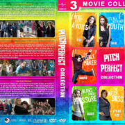 Pitch Perfect Collection (2012-2017) R1 Custom DVD Cover