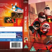 The Incredibles (2013) R1 Blu-Ray Cover