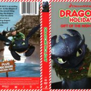 Dragons Holiday: Gift of the Night Fury (2013) R1 DVD Cover