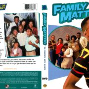Family Matters Season 6 (1995) R1 DVD Cover