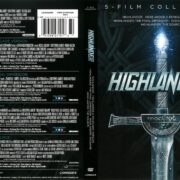 Highlander 5-Film Collection (1986-2007) R1 DVD Cover