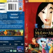 Mulan 2-Movie Collection (2013) R1 DVD Cover