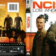 NCIS: Los Angeles Season 8 (2017) R1 DVD Cover