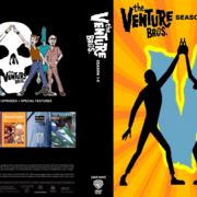The Venture Bros: Season 1-5 R1 DVD Custom Cover