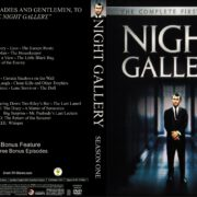 Night Gallery Season 1 (2017) R1 Custom DVD Cover