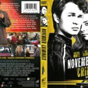 November Criminals (2016) R1 DVD Cover