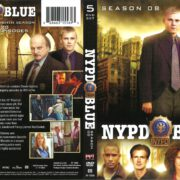 NYPD Blue Season 8 (2001) R1 DVD Cover