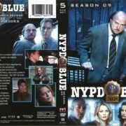 NYPD Blue Season 9 (2002) R1 DVD Cover