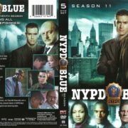 NYPD Blue Season 11 (2004) R1 DVD Cover