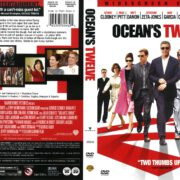 Ocean's Twelve (2004) R1 DVD Cover