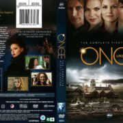 Once Upon a Time Season 1 (2012) R1 DVD Cover