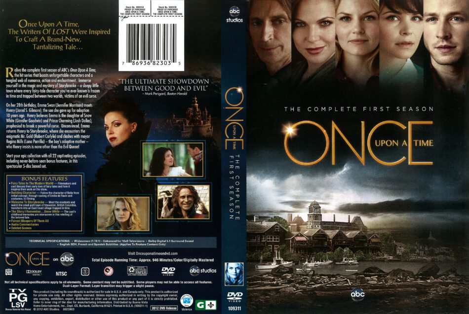 Once Upon A Time Dvd