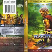 Thor: Ragnarok (2018) UHD 4K Cover & Label