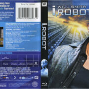 I, Robot (2004) R1 Blu-Ray Cover & Label