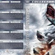 Sharknado Collection (5) (2013-2017) R1 Custom Blu-Ray Cover