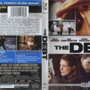 The Debt (2011) R1 Blu-Ray Cover & Label