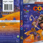 Coco (2018) R1 Blu-Ray Cover & Labels