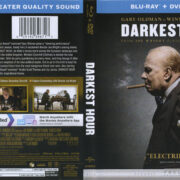Darkest Hour (2017) R1 Blu-Ray Cover & Labels
