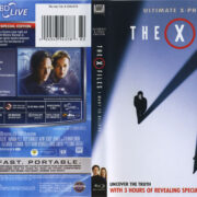 The X-Files: I Want To Believe (2008) R1 Blu-Ray Cover & Label