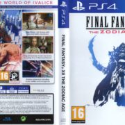 Final Fantasy XII: The Zodiac Age (2017) PAL PS4 Cover