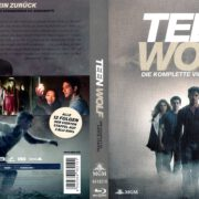 Teen Wolf – Season 4 (2014) R2 German Blu-Ray Cover & Labels