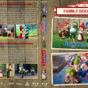 Gnomeo & Juliet / Sherlock Gnomes Double Feature (2011-2018) R1 Custom Blu-Ray Cover