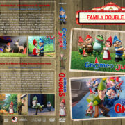 Gnomeo & Juliet / Sherlock Gnomes Double Feature (2011-2018) R1 DVD Cover