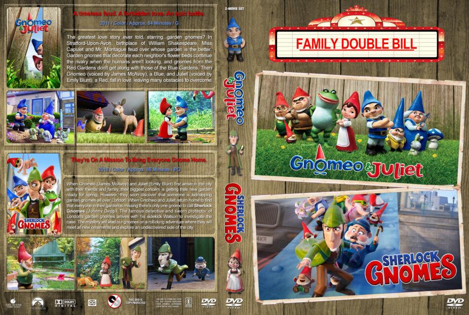 Gnomeo & Juliet / Sherlock Gnomes Double Feature (2011-2018) R1 ...