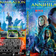 Annihilation (2018) R1 Custom DVD Cover