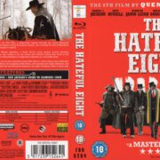 THE HATEFUL EIGHT (2015) R2 Blu-Ray Cover & Label