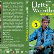 Hetty Wainthropp Investigates Series 2 (1997) R1 Custom DVD Cover