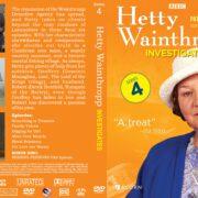 Hetty Wainthropp Investigates Series 4 (1998) R1 Custom DVD Cover