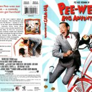 Pee-Wee's Big Adventure (1985) R1 DVD Cover