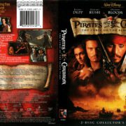 Pirates of the Caribbean: Curse of the Black Pearl (2003) R1 DVD Cover