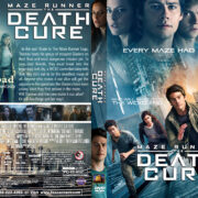 Maze Runner : The Death Cure (2018) R1 Custom DVD Cover