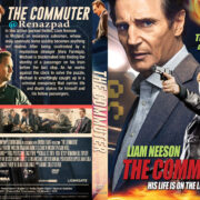 The Commuter (2018) R1 Custom DVD Cover
