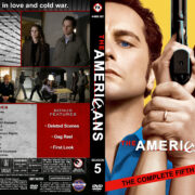 The Americans – Season 5 (2017) R1 Custom DVD Cover & Labels