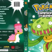Pokemon Diamond and Pearl Volume 5 (2008) R1 DVD Cover