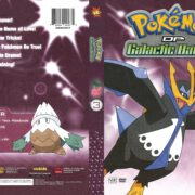 Pokemon DP Galactic Battles Volume 3 (2011) R1 DVD Cover