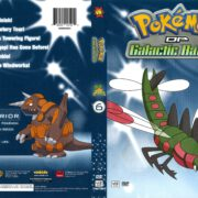 Pokemon DP Galactic Battles Volume 6 (2011) R1 DVD Cover