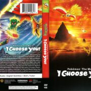 Pokemon the Movie: I Choose You! (2018) R1 DVD Cover