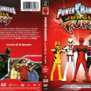 Power Rangers Jungle Fury (2017) R1 DVD Cover