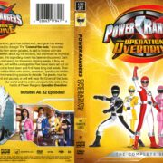 Power Rangers Operation Overdrive (2017) R1 DVD Cover