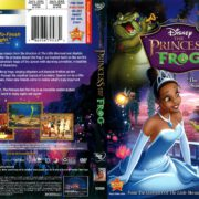The Princess and the Frog (2010) R1 DVD Cover